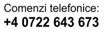 comenzi telefonice stampile estampila.ro