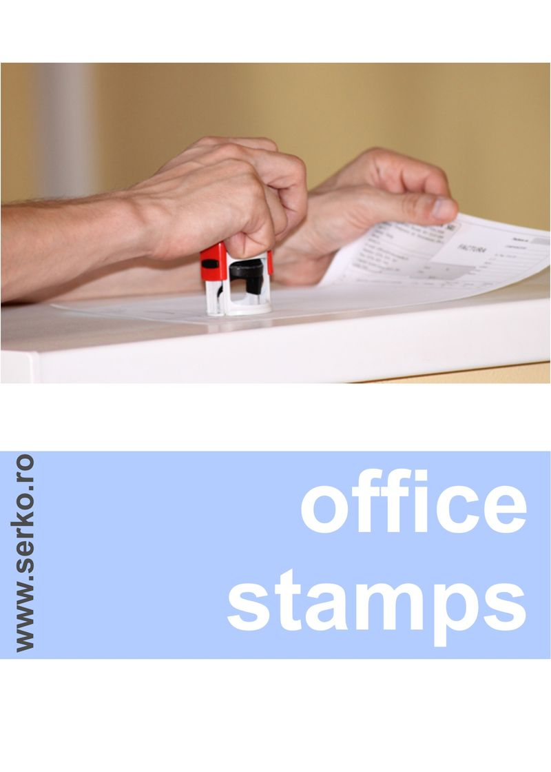 office stamp stampile firma stampila office