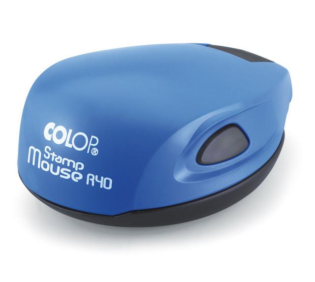 Stampila rotunda firma diametrul 40 mm pe suport automat Mouse R40 +40722643673