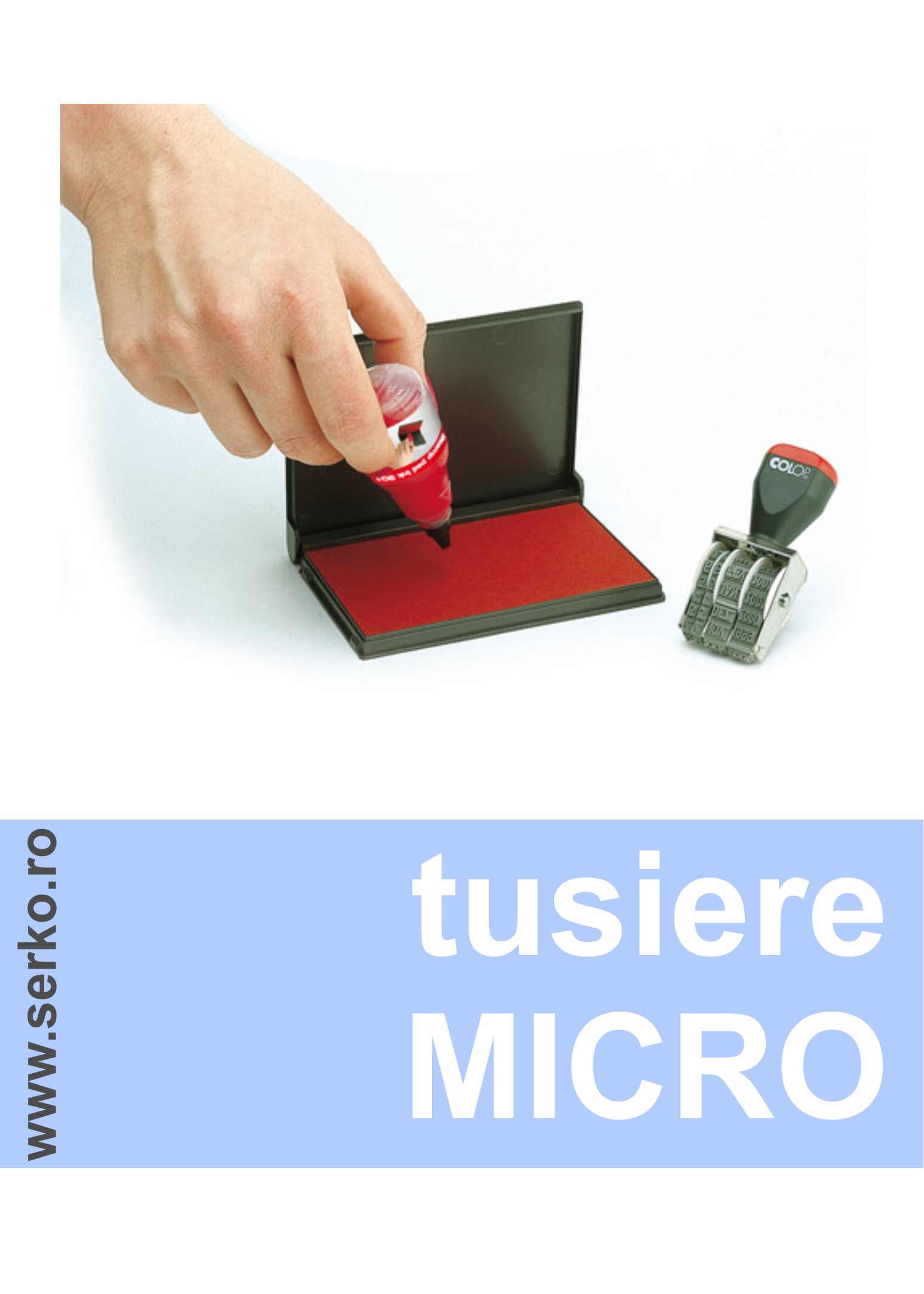 tusiere micro pt stampile lemn