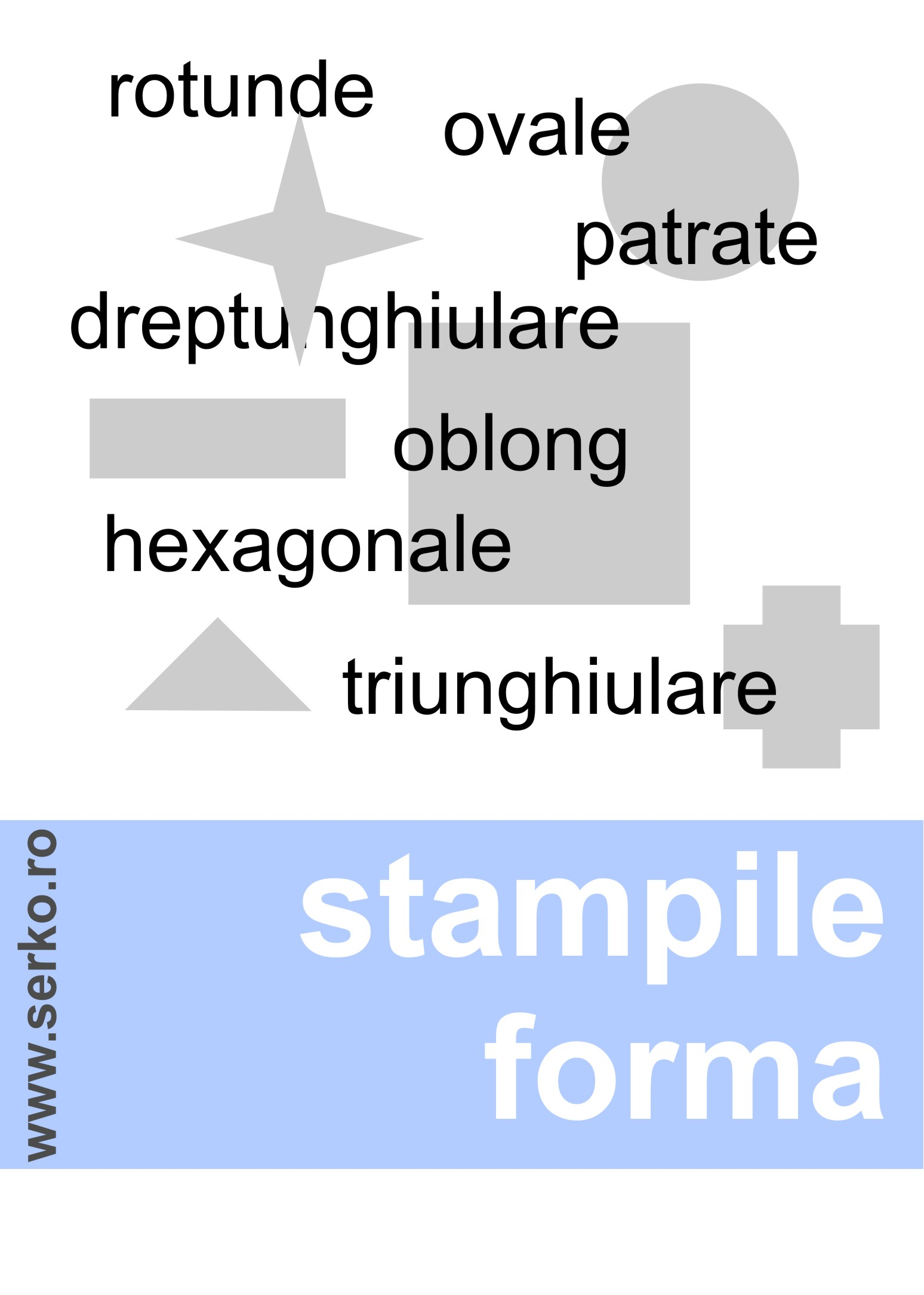 stampila forma