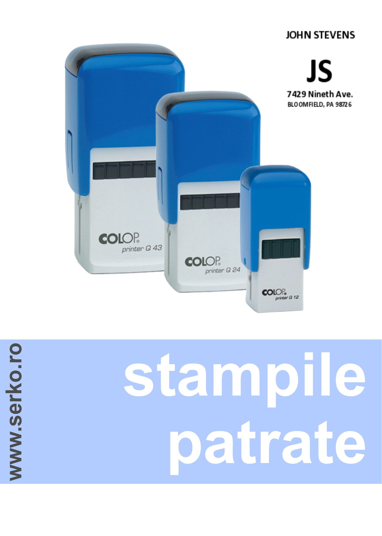 STAMPILE PATRATE